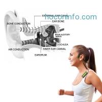 ihocon: Besteker  Bluetooth Bone Conduction Headphone藍牙骨傳導耳機