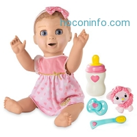 ihocon: Luvabella - Blonde Hair - Responsive Baby Doll with Realistic Expressions and Movement