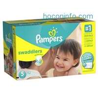 ihocon: Pampers Swaddlers Diapers Size 5, 152 Count (One Month Supply)