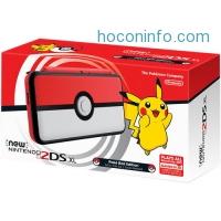 ihocon: Nintendo 2DS XL Handheld Gaming System (Pokeball Edition)