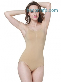 ihocon: MISSALOE Women Seamless Basic Shapewear連身塑身衣