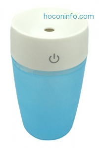 ihocon: Unitedtime Cool Mist mini Portable Humidifier 個人用室內加濕器,可拿到車上使用