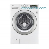 ihocon: LG Electronics 4.5 cu. ft. High Efficiency Front Load Washer in White, ENERGY STAR