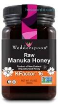 ihocon: Wedderspoon Raw Premium Manuka Honey KFactor 16+, 17.6 Ounce 麥盧卡蜂蜜