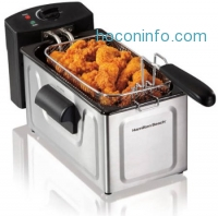 ihocon: Hamilton Beach 2-Liter Professional Deep Fryer