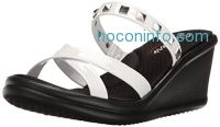 ihocon: Skechers Cali Women's Rumblers Studette Wedge Sandal