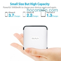 ihocon: Palm-sized OLALA G3 10400mAh Portable Charger行動電源/充電寶