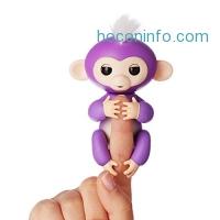 ihocon: WowWee Interactive Baby Monkey - Mia 互動手指猴