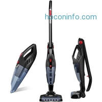 ihocon: Deik 2 in 1 Cordless Vacuum Cleaner, Rechargeable Bagless無線無袋吸塵器