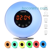 ihocon: COOFINE Alarm Clock Wake Up Light 自然喚醒燈/鬧鐘