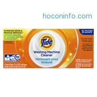 ihocon: Tide Washing Machine Cleaner, 5 Count洗衣機清潔劑
