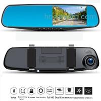 ihocon: TT-Createch 4.0 Full HD 1080P 170° Wide Angle Dual Dashboard Camera Car Rear View Backup Camera with Reverse Parking System 行車記錄器含倒車監視系統