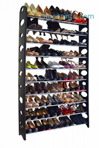 ihocon: 10 Tier Shoe Rack (50 Pairs)十層鞋架