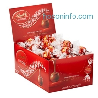 ihocon: Lindt LINDOR Milk Chocolate Truffles, 60 Count Box