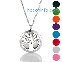 ihocon: Essential Oil Diffuser Necklace & 8 Refill Pads精油項鍊