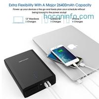 ihocon: DBPOWER 26400mAh Laptop Power Bank行動電源/充電寶