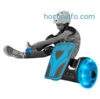 ihocon: Neon Street Rollers - Kids Light up Clip on Skates - Blue