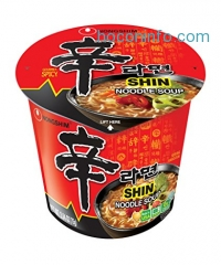ihocon: Nongshim Shin Noodle Soup, Gourmet Spicy, 2.64 Ounce (Pack of 6)辛拉麵