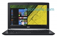 "ihocon: Acer Aspire V 15 Nitro Black Edition, Core i7, GeForce GTX 1060, 15.6"" Full HD, 16GB DDR4, 256GB SSD, 1TB HDD, VN7-593G-73KV"