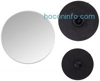 ihocon: Blind Spot Mirror, Samdone Stick-On Adjustable 2 Round HD Glass Convex Rear View Mirror,  Pack of 2