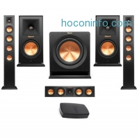 ihocon: Klipsch 2x RP-440WF HD Premiere HD Wireless Floorstanding Speaker W/Audio Bundle無線音響系統