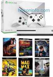 ihocon: Xbox One S 500GB Console with Bonus 4K Movie