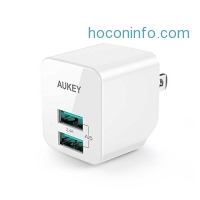 ihocon: AUKEY USB Wall Charger充電器
