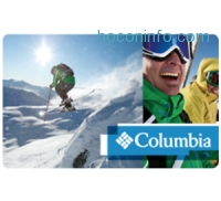 ihocon: $100 Columbia gift card 只賣  $87 - Email Delivery