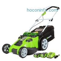 ihocon: GreenWorks 25302 G-MAX 40V Twin Force 20-Inch Cordless Lawn Mower