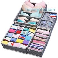 ihocon: MIUCOLOR Closet Underwear Organizer 4 Set內衣,小物收納盒