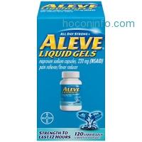 ihocon: Aleve 止痛藥 Liquid Gels, 120 Count