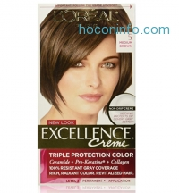 ihocon: L'Oreal Paris Excellence Creme, 5 Medium Brown, (Packaging May Vary)