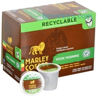 ihocon: Marley Coffee, Mystic Morning, Medium Roast, 24 Single Serve RealCups膠囊咖啡