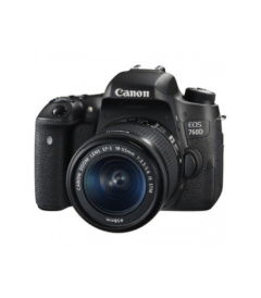 Canon EOS 760D 24.2 MP With 18-55mm Lens DSLR Camera