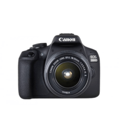 CANON EOS 2000D WITH 18-55MM KIT LENS DSLR CAMERA