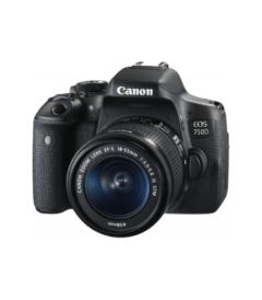 Canon EOS 750D 24.2 MP With 18-55mm Lens DSLR Camera