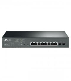 TP-Link T1500G-10MPS JetStream 8-Port Gigabit Smart PoE+ Switch