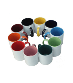 Sublimation Mug with Full Inner Color and Handle