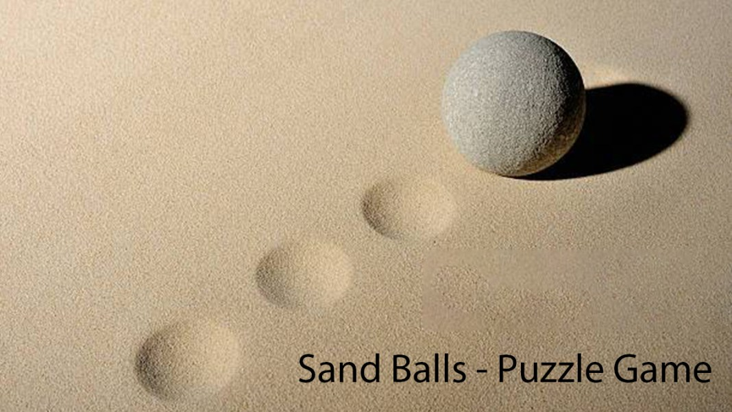 sand balls puzzle game