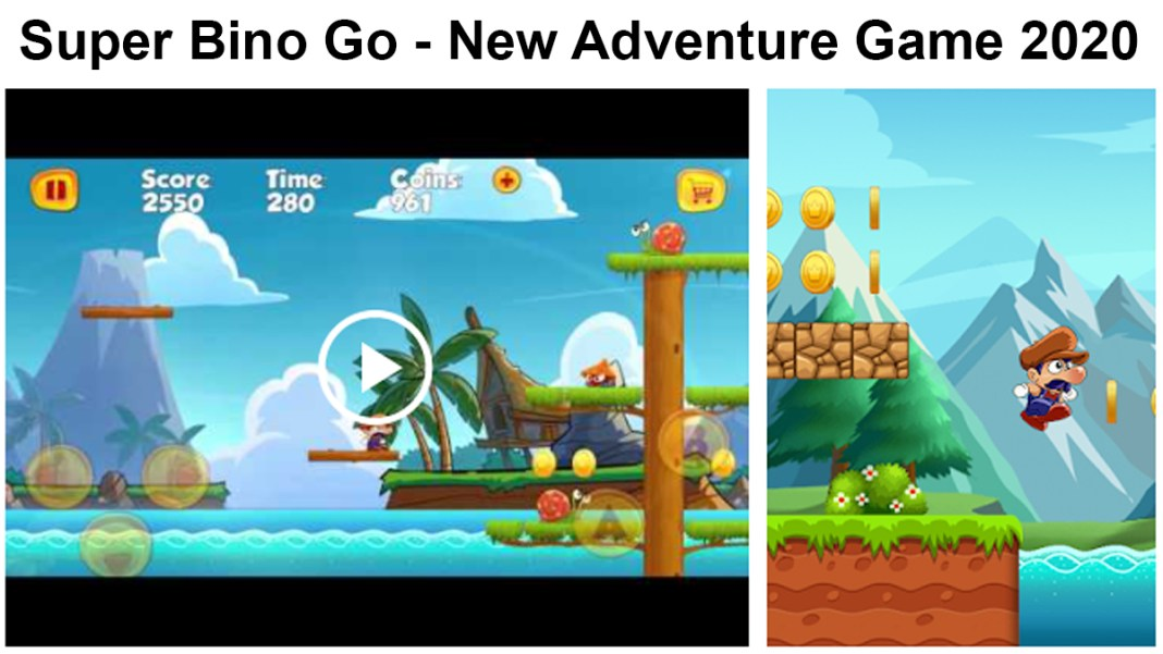 Super Bino Go New Adventure Game 2020