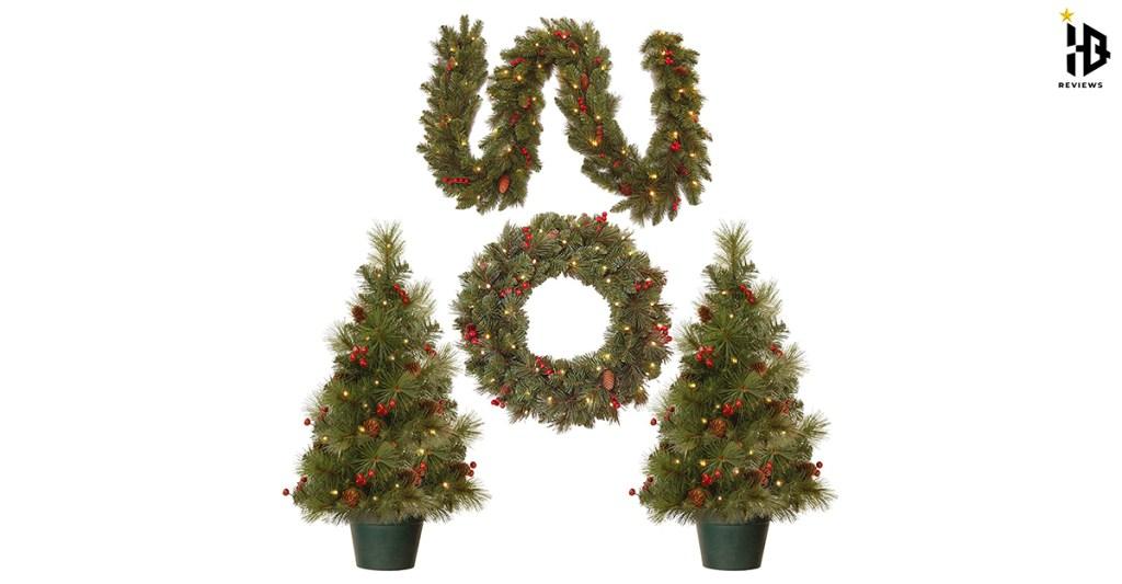 pre-lit-artificial-christmas-garland