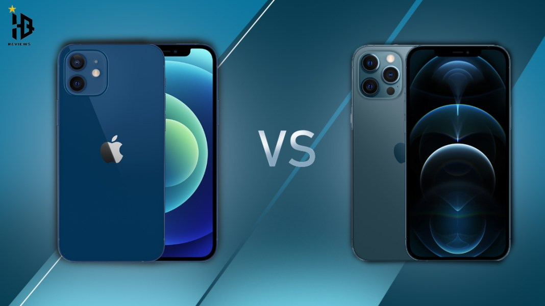 iphone 12 vs i phone 12 pro