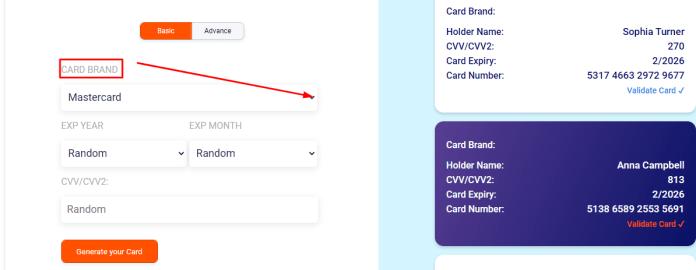 Creditcardgenerator-website