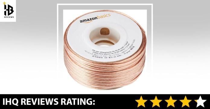 AmazonBasics 100ft 16 Gauge Audio Wire Cable