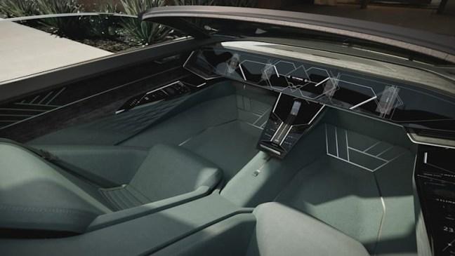 audi fancy car dashboard