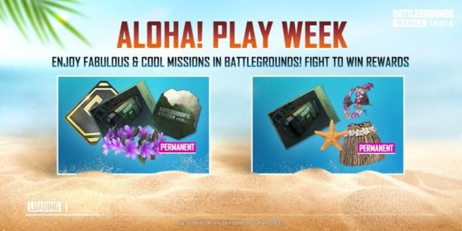 pubg aloha! play week