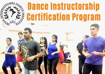 Dance Instructor-ship Certification Program with Tapas Das