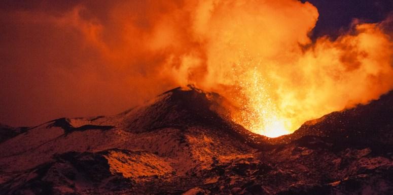 Volcanic eruption coverage   III