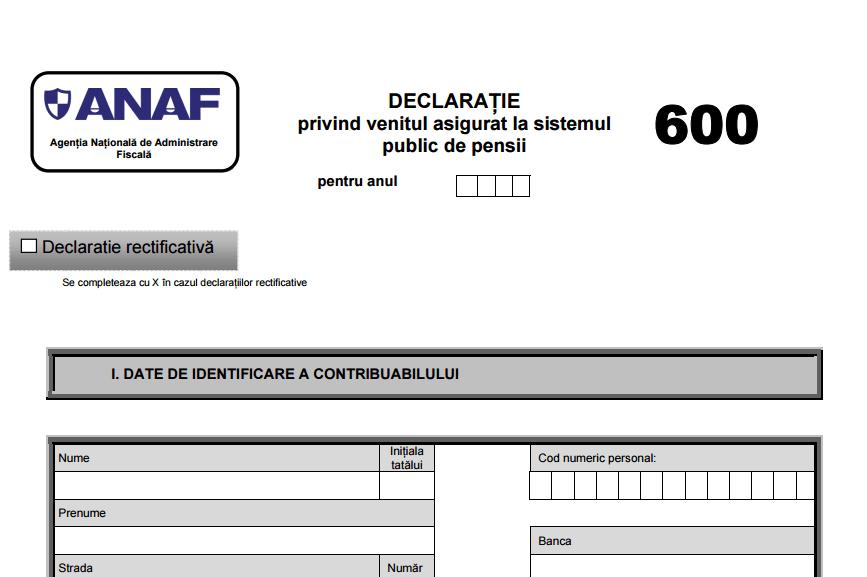 ANAF în direct despre D600