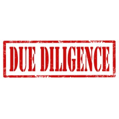 Due Diligence-stamp